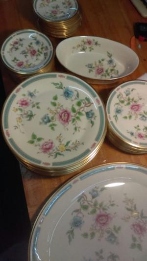 """Morning Blossom 16 3/8"""" Platter"""