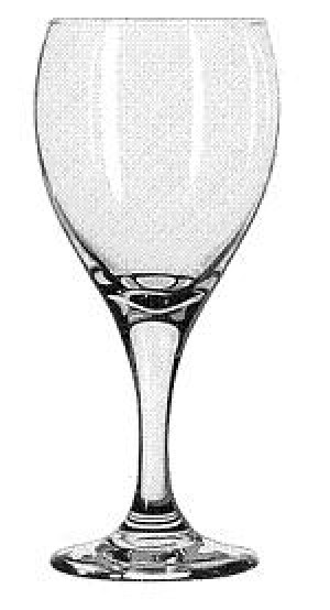Goblet Glass, 12 ounce, Teardrop, 3dz/case