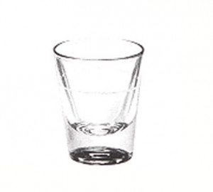 Shot Glass, 1-1/4 ounce, lined at 7/8 oz, 6dz/case