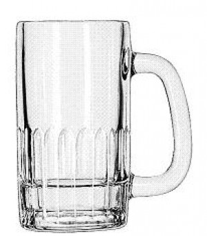 Handled Mug, 12 ounce, 2dz/case