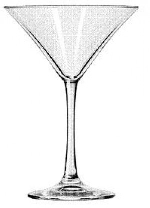 Martini glass, 8 oz., Vina, 1dz/case