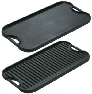 Logic Pro reversible griddle & grill, Cast iron