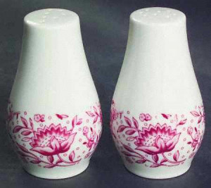 Mayflower Salt & Pepper Shaker Set
