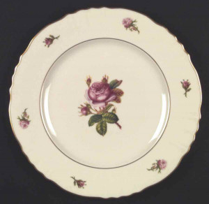 "Syracuse China Victoria 6.25"" Bread Plate"