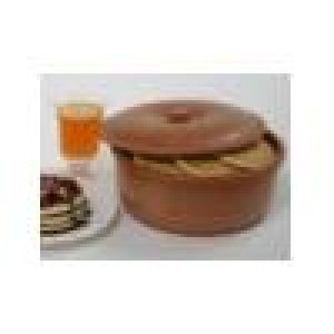 "Tortilla & pancake warmer 9.75""x4.75"