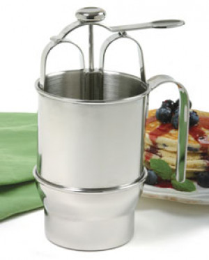 Pancake batter dispenser s/s 2.5 cups