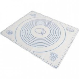 15.5x19.5 Silicone pastry mat w/ Measurements