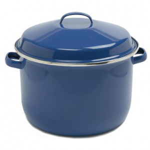 18 qt Canner, Blue Enamel