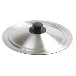 "Universal lid, S/S, 12"" w/Adjustable vent"
