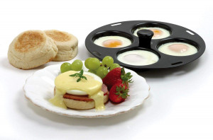 4 Egg poacher, pan insert 8.5""