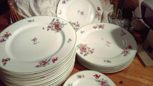 "Old Haarlem 6.25"" Bread Plate"