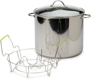 20 qt Stock Pot and Canner with glass cover