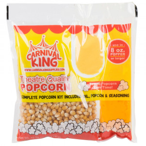 All In One 8 oz Popcorn Kit 24/cs