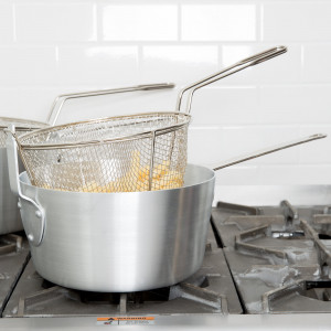 7 qt Aluminum Sauce pan and fryer pot