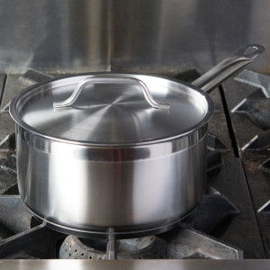 6 Qt Sauce Pan S/S Induction ready