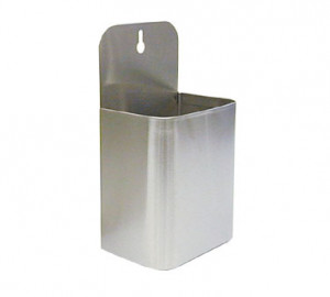"Cap Catcher, 10-1/8""L x 5-1/4""W, stainless steel"
