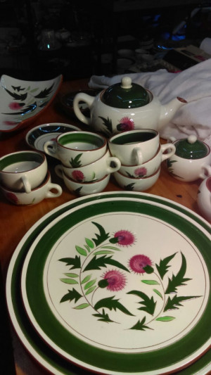 Thistle Sugar & Creamer Set