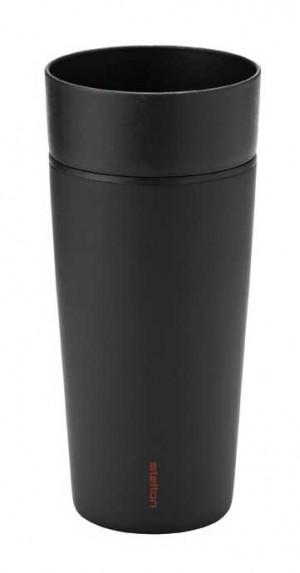 Travel to go mug 10.2 oz black