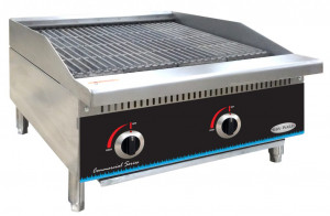 "Charbroiler, Gas, 24"", natural gas"