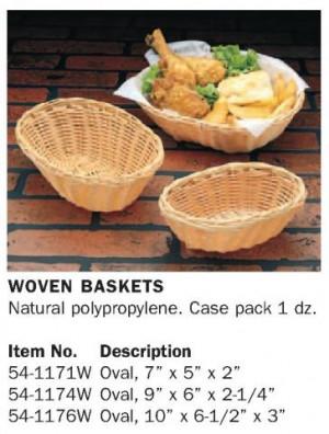 Woven Basket 7x5x2 Nat'l