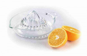 "8"" Glass Citrus Juicer"