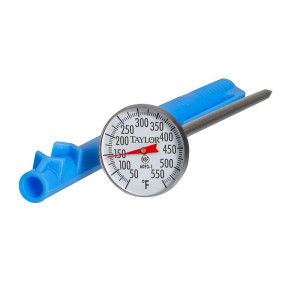 "Thermometer, Pocket, 50 to 500, 5"" Stem, S/S"