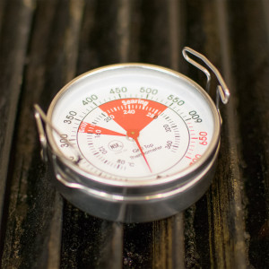 Grill & griddle surface thermometer, 100 to 500
