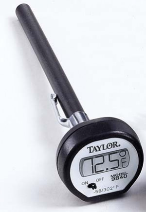 Pocket Digital Thermometer, -48/302F