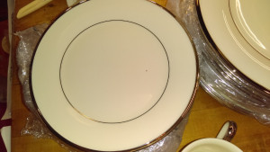"Solitaire 8"" Lunch Plate"