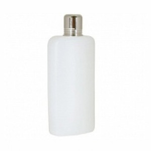 Plastic flask, 16 oz.
