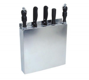 Knife rack, 12 slot, S/S