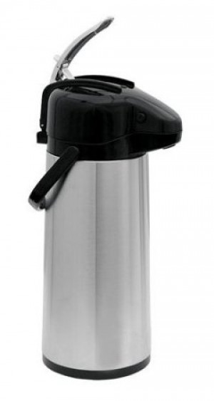 Airpot glass liner, 2.2L s/s with lever top