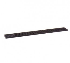 "Bar Mat, 3-1/4"" x 27"" long, Brown"