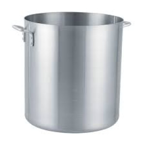 Arkadia Stock Pot- 32 qt. w/o cover,Alum, 6 Gauge