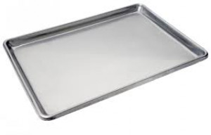 Bun Pan, Full Size Closed Bead, Sheet pan, 19 ga.