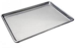 Bun Pan, Full Size Closed Bead, Sheet pan, 19 ga.