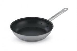 """Optio 11"""" non-stick fry pan, stainless"""