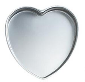 "Heart pan, 9"""