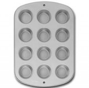 12 cup muffin pan, Nonstick