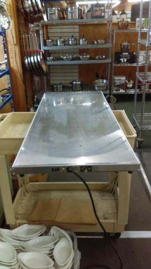 Hatco S/S warming tray/shelf GRS-48-1