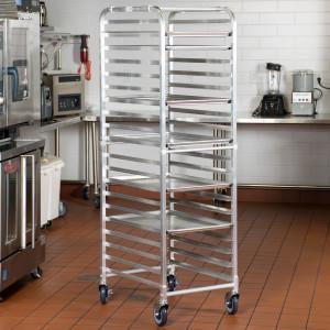 Aluminum Bun Pan rack, 20 pan capacity