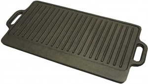 Reversible grill griddle Cast iron
