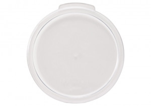 Round Transluce Cover for 6 & 8 qt food containers