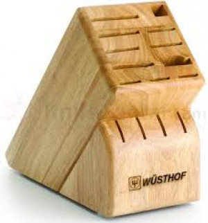 15-slot wood knife block