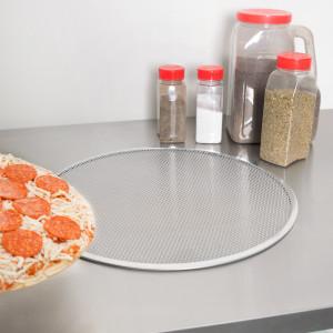 "Pizza baking Screen, 18"", aluminum"