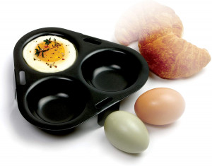 3 Egg non-stick poacher