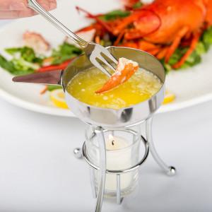 Butter warmer melter, s/s pan
