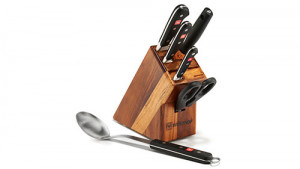 Knife block set, 6 pieces, Classic