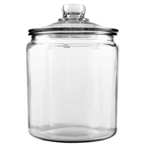 1/2 Gallon Glass jar w/ Cover
