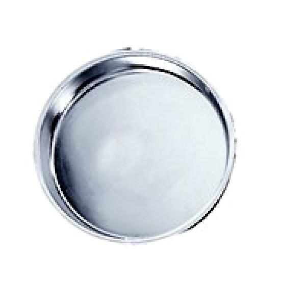 """Round cake pan, S/S 9""""x1.5"""""""